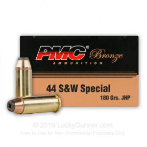 44 Special - 180 Grain JHP - PMC - 500 Rounds 741569200021