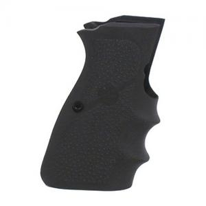 Hogue Browning Hi-Power Rubber grip with Finger Grooves Black 9000
