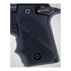 Hogue SIG Sauer P238 Rubber Grip with Finger Grooves Black 38000