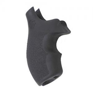 Hogue S&W J Frame Round Butt Rubber Bantam Style Grip Black 61000
