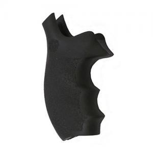 Hogue S&W K or L Frame Round Butt Rubber Bantam Style Grip Black 62000