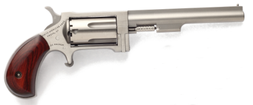 North American Arms Sidewinder Stainless Steel .22WMR 4-inch 5 Rds NAA-SWL