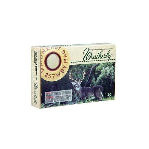 Weatherby Ammo 257Weatherby 120GR Nosler 20rds N257120PT