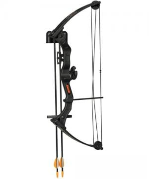 Bear Youth Bows BRAVE 3 Black with BISCUIT RH AYS200BR