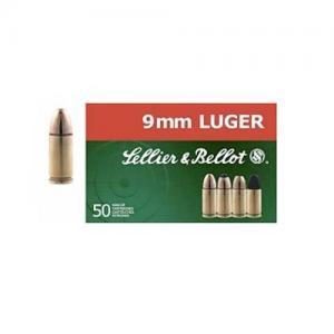 Sellier and Bellot 9mm Makarov 95GR FMJ 50rds SB9MAK