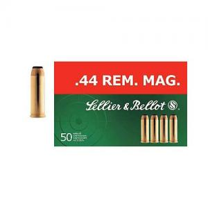 Sellier and Bellot 44Remington Magazine 240GR SP 50rds0 SB44A