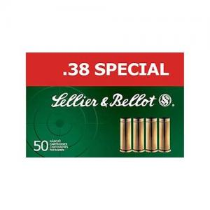 Sellier and Bellot 38SPL 158GR FMJ 50rds SB38P