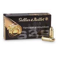 Sellier & Bellot, 9mm, FMJ, 115 Grain. 1,000 Rounds SB9A