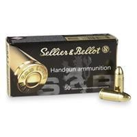 Sellier & Bellot, 9mm Luger, FMJ, 124 Grain, 1,000 Rounds SB9B