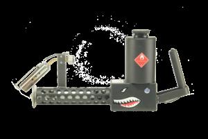 X Products XM42 Lite Flamethrower Black - XM42-LITE-BLACK 760999923338