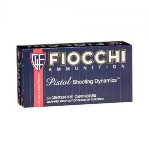 Fiocchi Pistol Shooting Dymanics 9mm Makarov FMJ 50Rds 762344001777
