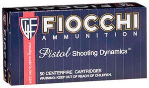 Fiocchi 357SIGAP Pistol Shooting Dynamics 357 Sig 124GR FMJ 50 Box/20 Case 357SIGAP