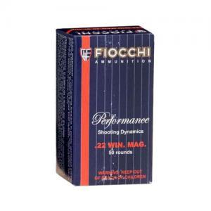 Fiocchi 22MG 40 Grain JHP 50 Rounds 22FWMB