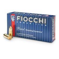 Fiocchi, 9mm, FMJ, 115 Grain, 1,000 Rounds 9AP/CS