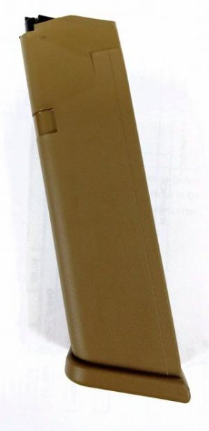 Glock G19X Magazine Coyote Brown 9mm 17Rds 47487