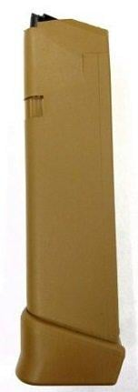 Glock G19X Magazine Coyote Brown 9mm 19Rds 47488
