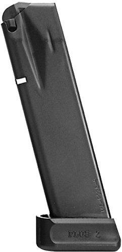 Mec-Gar Magazine for Sig Sauer P226 Anti Friction Coating 9Mm 20Rd Black MGP22620AFC