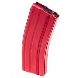 C-Products DuraMag Speed 223/5.56 AR-15 30rd Aluminum Magazine - RED CPD-3023004175CPD