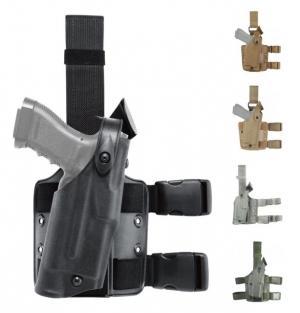 Safariland Model 6304 ALS/SLS Drop-Leg Holster, Glock 20/21, Left Hand, STX Tactical Black, 6304-383-132 6304383132