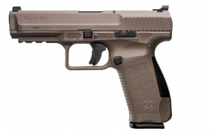 "Canik TP9SF 9MM 4.46"" Barrel 18 Rounds FDE 787450524521"