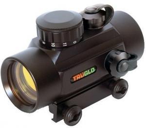 TruGlo Red Dot 2x24 Sight, 30mm Tube, Matte Black - TG8030B2 TG803OB2
