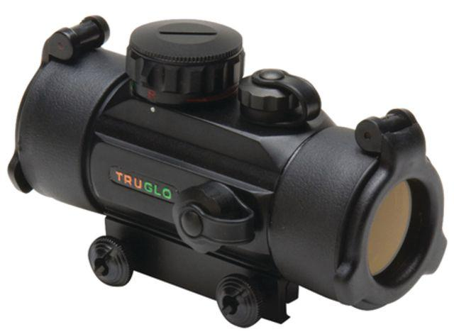 TruGlo Red Dot Dual Color Sight, 1x30mm, 5 MOA, Red/Green Reticle, Matte Black 788130011331