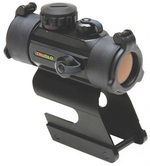 Truglo TG8030DBR Dual Color 1x 30mm Obj Unlimited Eye Relief 5 MOA Black 788130011577