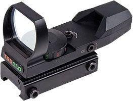 TruGlo Dual-Color Open Red Dot Sight, 5 MOA Reticle, Black, TG8370B TG8370B