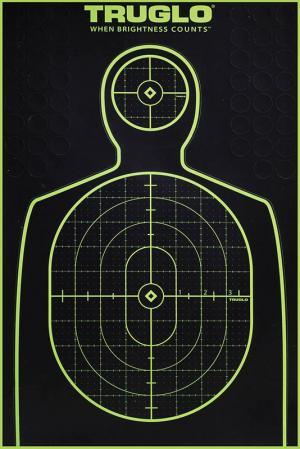 Truglo TG13A6 TRU-SEE Target Handgun 6-Pack TG13A6