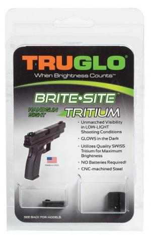 TruGlo Brite-Site Tritium Green Front/Rear Night Sight for Glock 42, TG231G1A TG231G1A