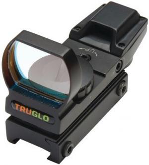 TruGlo Open Red-Dot Sight, Red/Green Illuminated Multi-Reticle, Matte Black TRUTG8360B