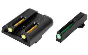 TruGlo Tritium / Fiber Optic TFO Hand Gun Sights, Green Front and Yellow Rear - For Glock 17/19/22 and Similar TG131GT1Y TG131GT1Y