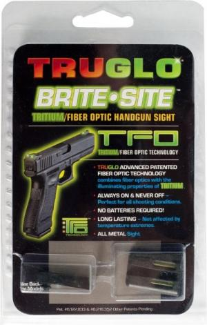 TruGlo Tritium / Fiber Optic TFO Hand Gun Sights, Green Front and Yellow Rear - For Glock 20/21 and Similar TG131GT2Y TG131GT2Y