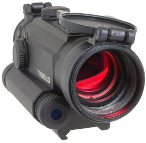 TruGlo Tru-Tec 2 MOA 30mm Red-Dot Sight with Red Laser, TG8130RN TG8130RN