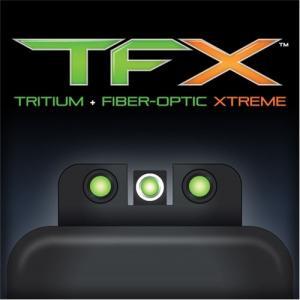 TruGlo TFX Taurus Millennium G2/709 Slim/740 Slim Front and Rear Sight Set, TG13TA2A TG13TA2A