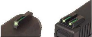 TruGlo Tritium/Fiber Optic Night Sight Set, Green #8 Front, #8 Rear - Sig - TG131ST1 TG131ST1