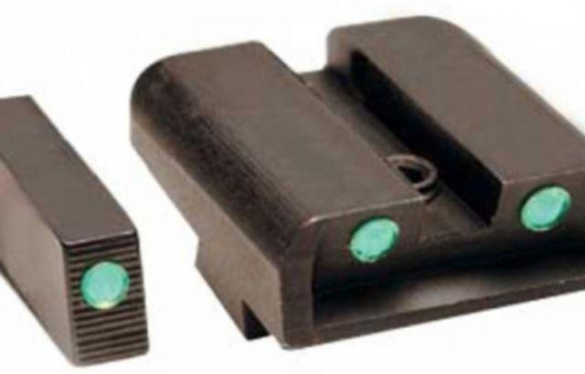 TruGlo Tritium Green Front & Rear Night Sights, For Glock 10mm/45 ACP TG231G2 TG231G2