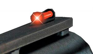 Truglo Long Bead Fiber Optic Front Sight Black with Red Fiber Optic Fits Browning/Franchi/Daly Shotguns TG947ERM