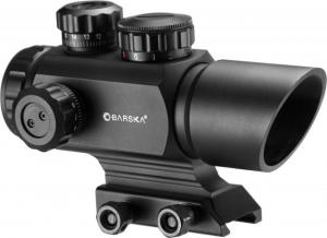 Barska AR-X 1x35mm Multi Reticle Red/Green Dot Scope, Black Matte, AC12176 790272985401