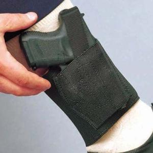 DeSantis Apache Ankle Rig Holster - Right, Black 062BAMAZ0 - FITS MOST MEDIUM AUTOS 062BAMAZ0