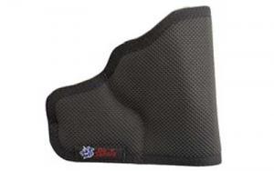 Desantis Nemesis Pocket Holster Black Leather Ambidextrous Fits J-Frame 2.25-inch / Bodyguard .38 / Ruger LCR DSGM33BJN3Z0