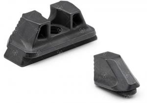 Strike Industries Strike Iron Sights for Glock, Standard Height, Black, One Size, SI-G-SIGHTS-STN 793811764192