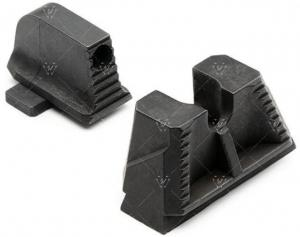 Strike Industries Strike Iron Sights for SIG Sauer P320, Suppressor Height, Black, One Size, SI-P320-SIGHTS-SH 793811764383
