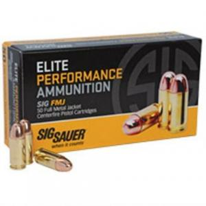 Sig Sauer Elite Performance 10mm 180GR FMJ 50Rds E10MB1-50