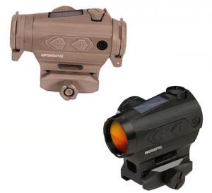 Sig Sauer Romeo4T Red Dot Sight, Ballistic Circle Dot, Solar, 0.5 MOA Adjustable, Side Battery, Hex Bolt Mount, Spacer, Flat Dark Earth, Medium, SOR43131 SOR43131