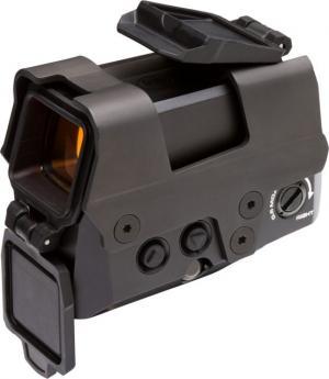 Sig Sauer Romeo8T Red Dot Sight, Ballistic Circle Dot, 0.5 MOA Adj, Side Battery, Hex Bolt Mount, Shroud, Black, NSN N, SOR81002 SOR81002