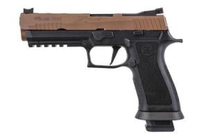 SIG SAUER P320 X-Five 9mm Pistol with Two-Tone Coyote Finish 798681613090