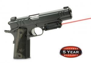 Lasermax Uni-Max Lasersight Red Laser, Rail Mounted - Pistols - LMS-UNI-ES 798816542349