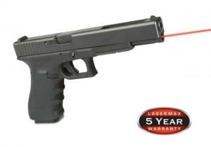 LaserMax Red Laser Internal Guide Rod Laser Sight For Glock 26/27/33 for Gen 4 Only LMS1161G4