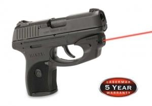 LaserMax CenterFire Red Laser Sight for Ruger LC9 pistols CF-LC9 CFLC9